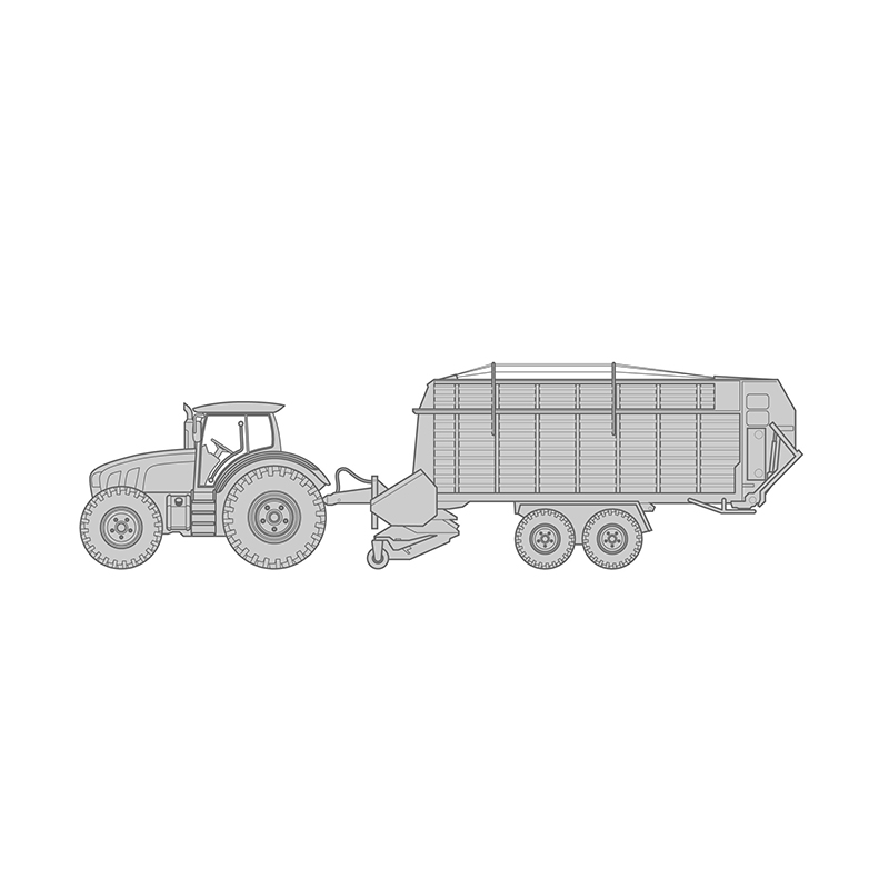 Forage wagon