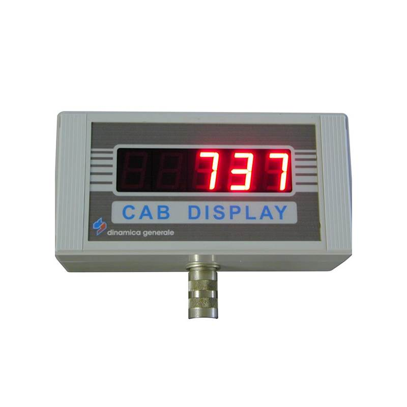 CAB DISPLAY