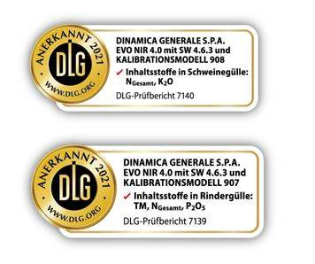 EvoNIR 4.0 BY DINAMICA GENERALE IS NOW DLG CERTIFIED FOR PIG AND COW SLURRY