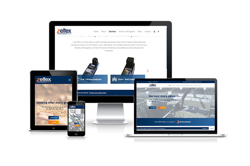 Zeltex, the US subsidiary of Dinamica Generale launches its new site